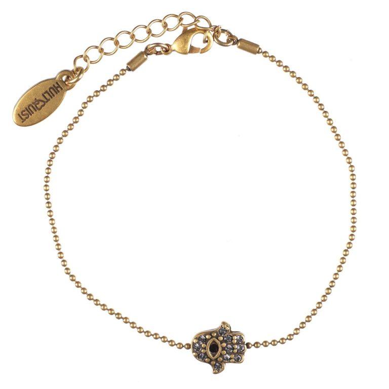 Hultquist Hamsa Bracelet Gold 0430G-R