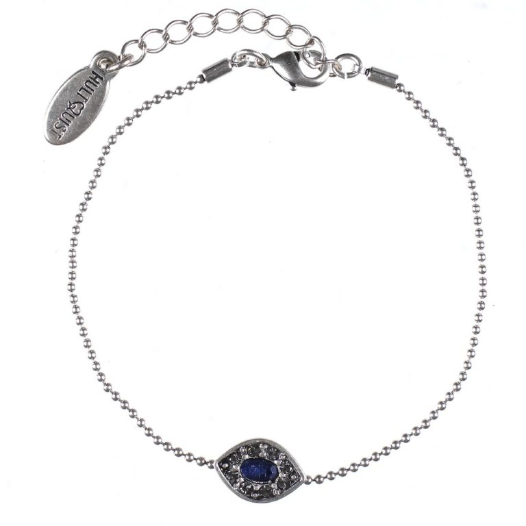 Hultquist Evil Eye Bracelet Silver 0431S-BL