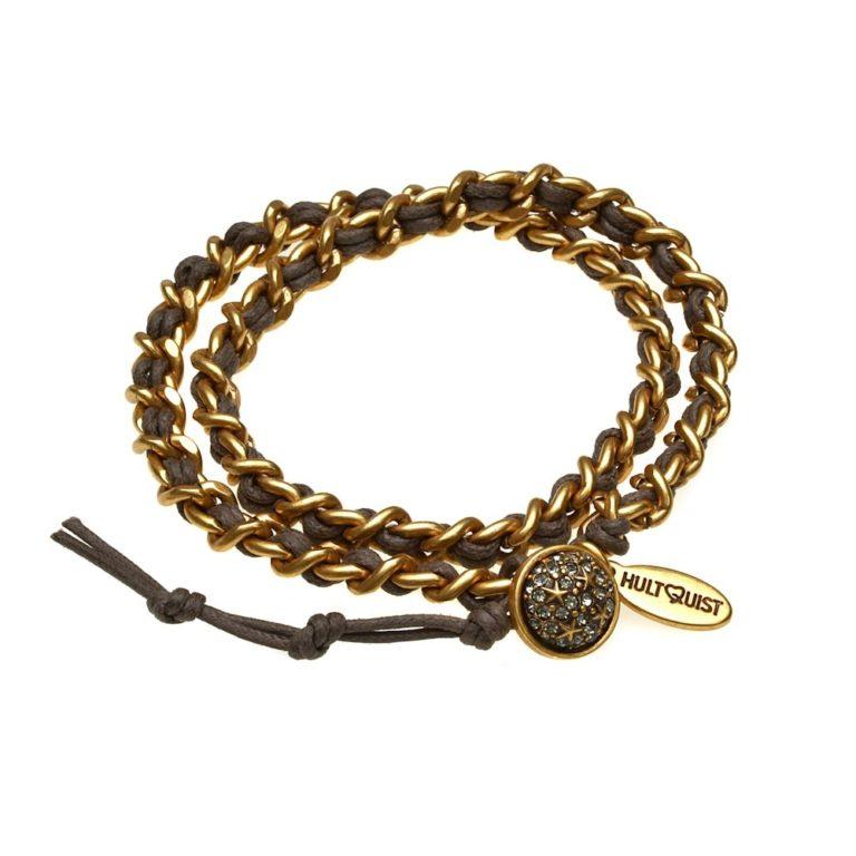 Hultquist Stars Double Wrap Bracelet Gold 392739G-BR