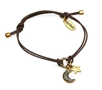Hultquist Moon & Stars Macrame' Bracelet Gold 392740G-BR