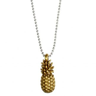 Pineapple Necklace 42cm - BiColour