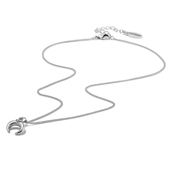 Hultquist Soul Safari Double Horn Necklace - Silver