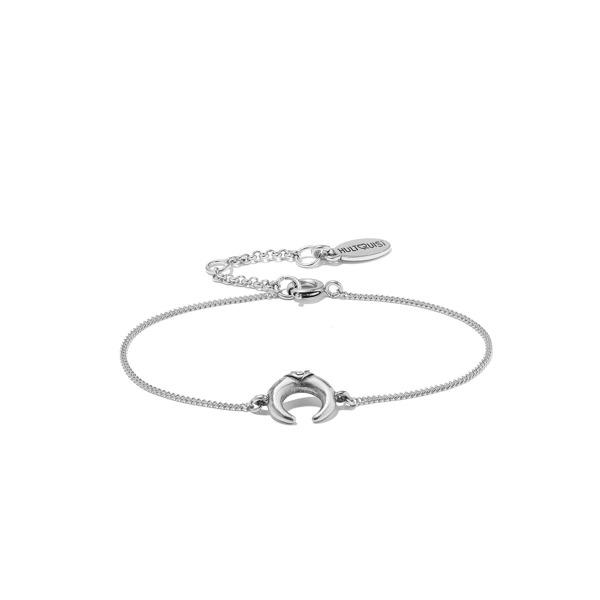 Hultquist Soul Safari Double Horn Bracelet - Silver