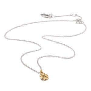 Hultquist Clover Necklace BiColour