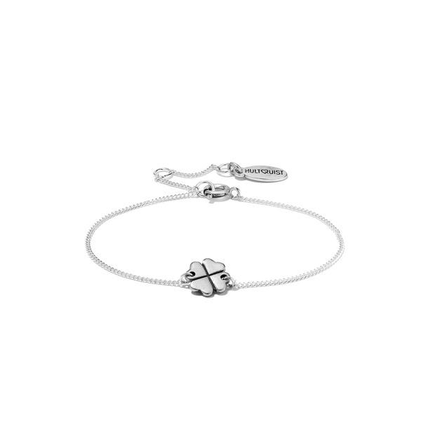 Hultquist Clover Chain Bracelet Silver