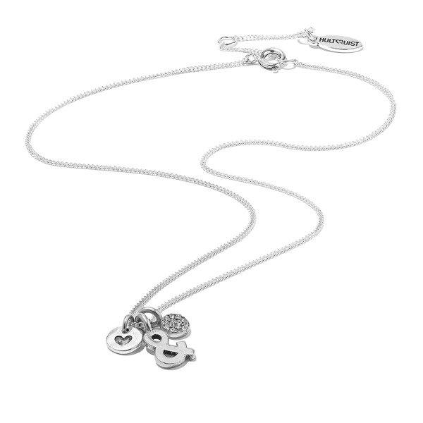 Hultquist Me & You Necklace Silver