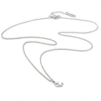 Hultquist Anchor Necklace Silver