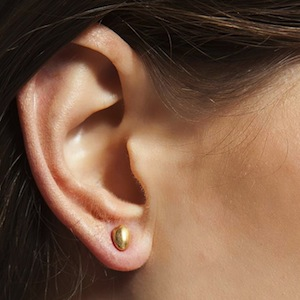 Hultquist Egg Stud Earrings