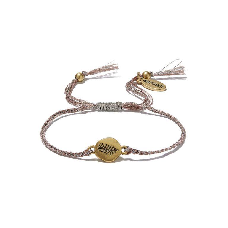 Hultquist Palm Leaf Disc Macrame' Bracelet