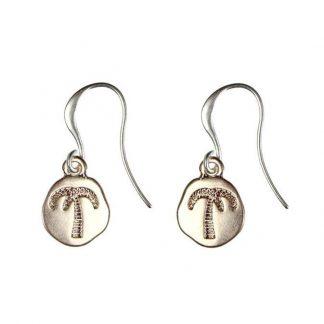 Hultquist Palm Tree Hook Earrings 1219RG