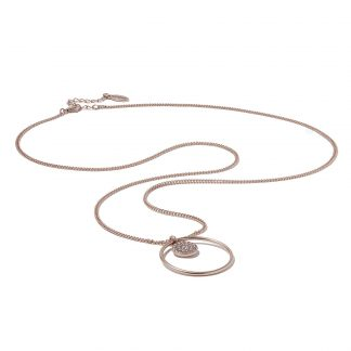 Hultquist New Nordic Necklace Rose 1273RG
