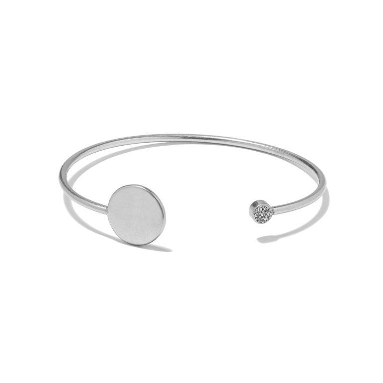 Hultquist New Nordic Crystal Bangle Silver 1276S