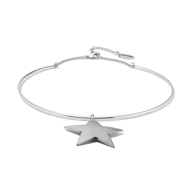 Hultquist Copenhagen Star Pendant Choker Silver 1329S