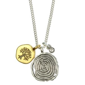 Hultquist Forest Short Necklace BiColour - 1272BI