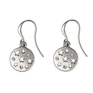 Hultquist Moon & Stars Hook Earrings 1296S