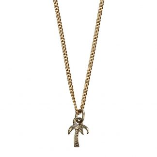 Hultquist Palm Tree Necklace Rose Gold 04301RG