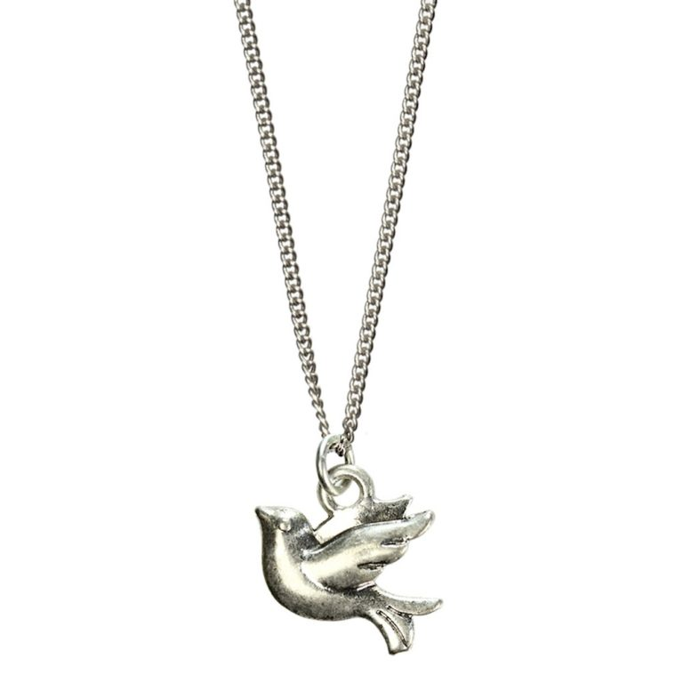 Hultquist Little Bird Necklace Silver 04311S
