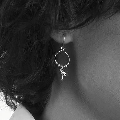 Hultquist Flamingo Earrings 1364S