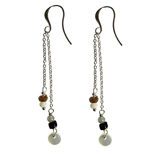 Hultquist Nordic Minimalism Chain Earrings Silver 1389S