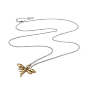 Hultquist Dragonfly Necklace Gold 1419BI