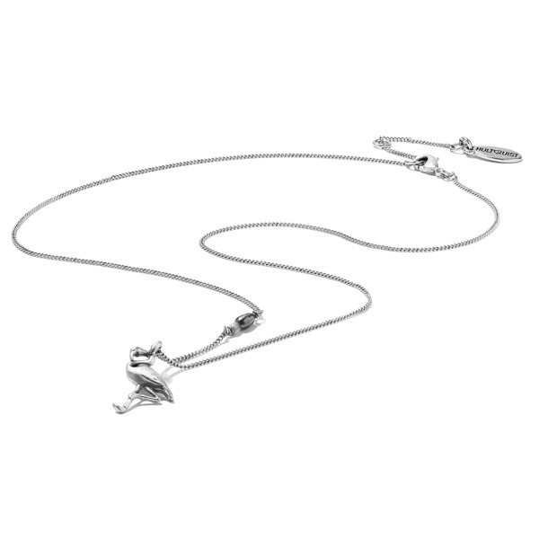 Hultquist Flamingo Necklace Silver 1361S