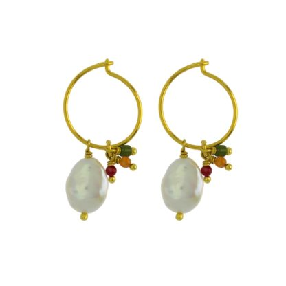 Hultquist Athena Earrings Gold 04365-G