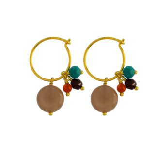 Hultquist Amy Earrings Gold 04370G