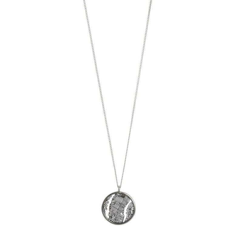 Hultquist Manhattan Necklace - Silver 1458-S
