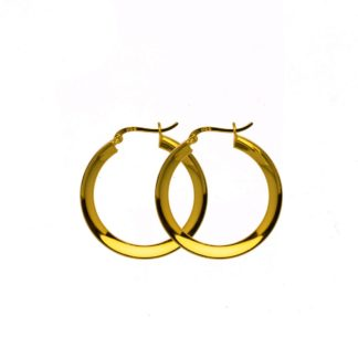 Hultquist Annabella Hoop Earrings Gold S01012-G