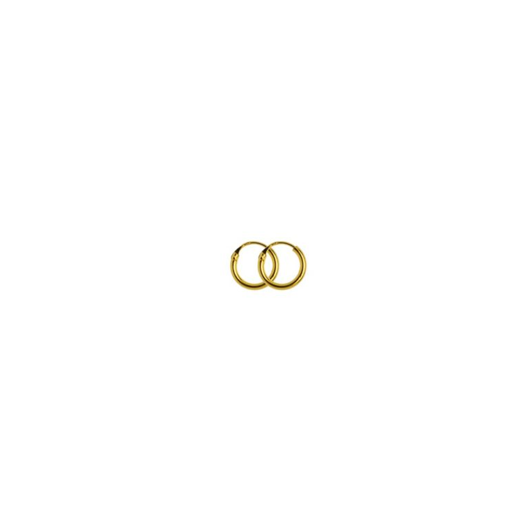 Hultquist Alice Tiny Hoop Earrings Gold S01016-G