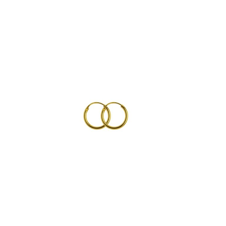 Hultquist Amanda Mini Hoop Earrings Gold S01017-G