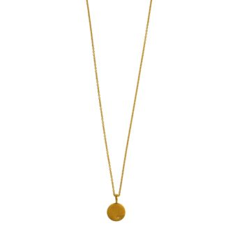 Hultquist Classic Alma Necklace Gold S02003-G