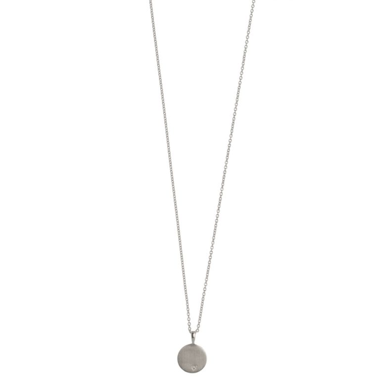 Hultquist Classic Alma Necklace Sterling Silver S02003-S