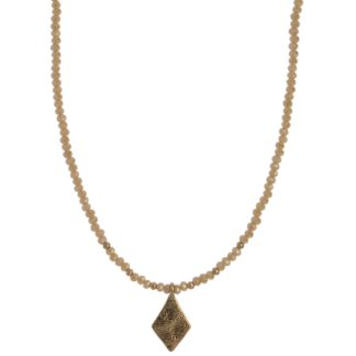 Hultquist Rhombus Necklace Rose Gold 1441RG