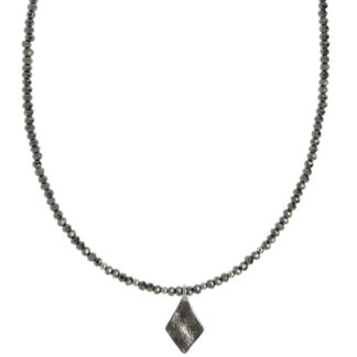 Hultquist Rhombus Necklace Silver 1441S