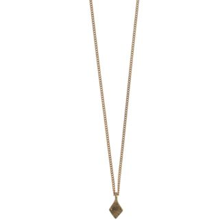 Hultquist Rhombus Small Pendant Necklace Rose Gold 1443RG