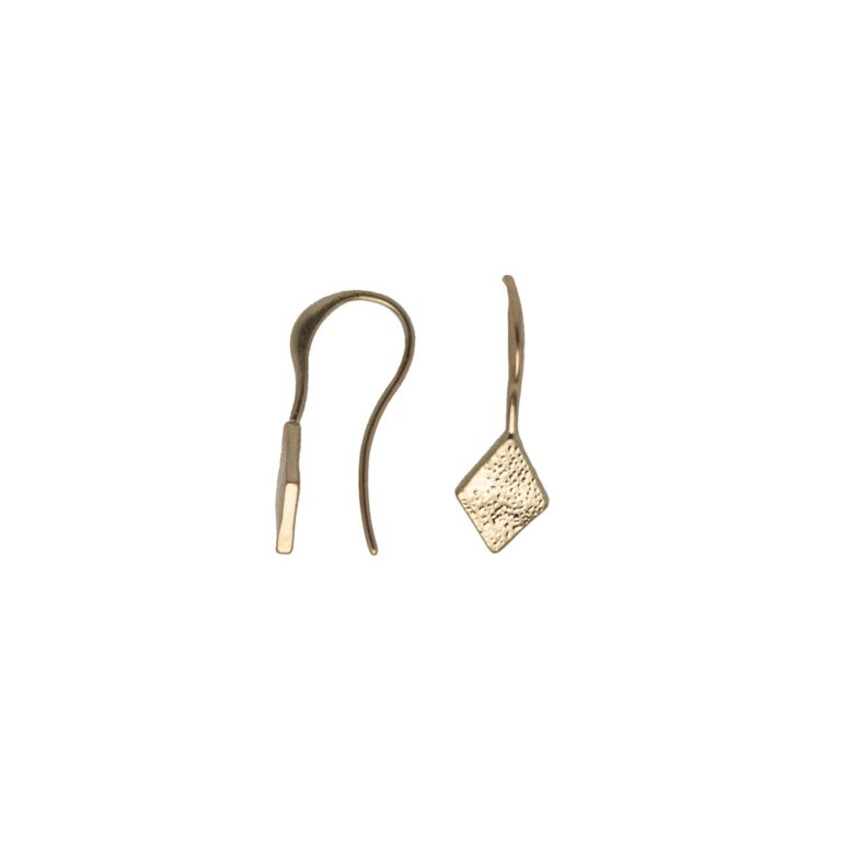 Hultquist Rhombus Hook Earrings Rose Gold 1446RG