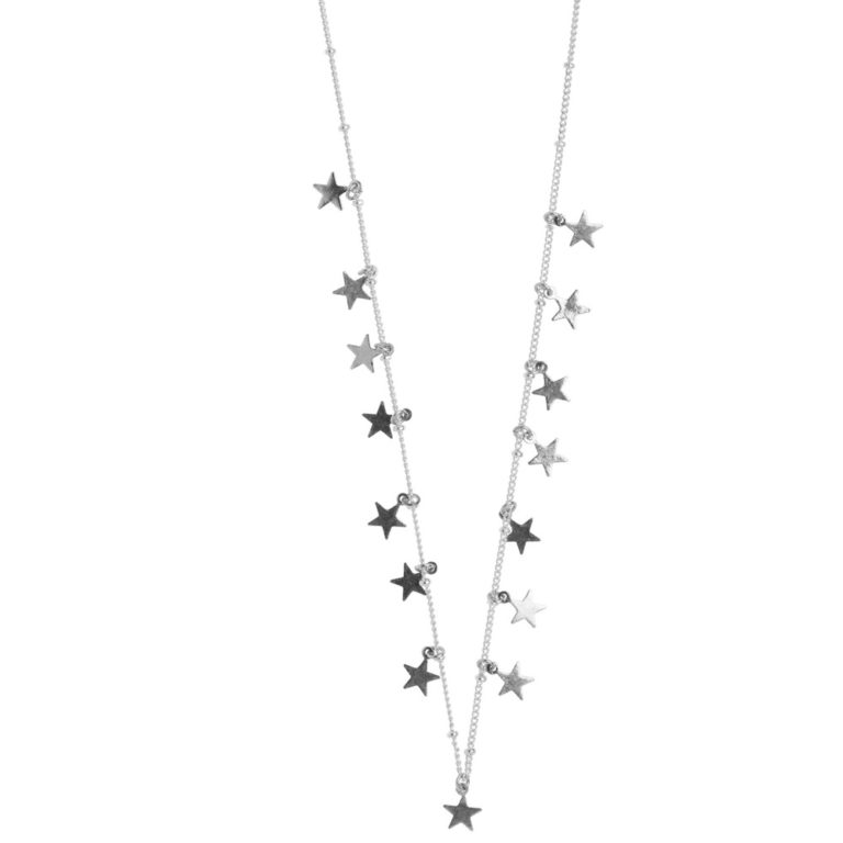 Hultquist Stars Necklace Silver 1467S