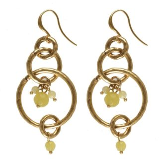 Hultquist Multi Hoop Earrings Gold 0338G-L