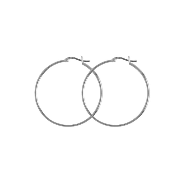 Hultquist Alba Hoop Earrings Silver S01010S