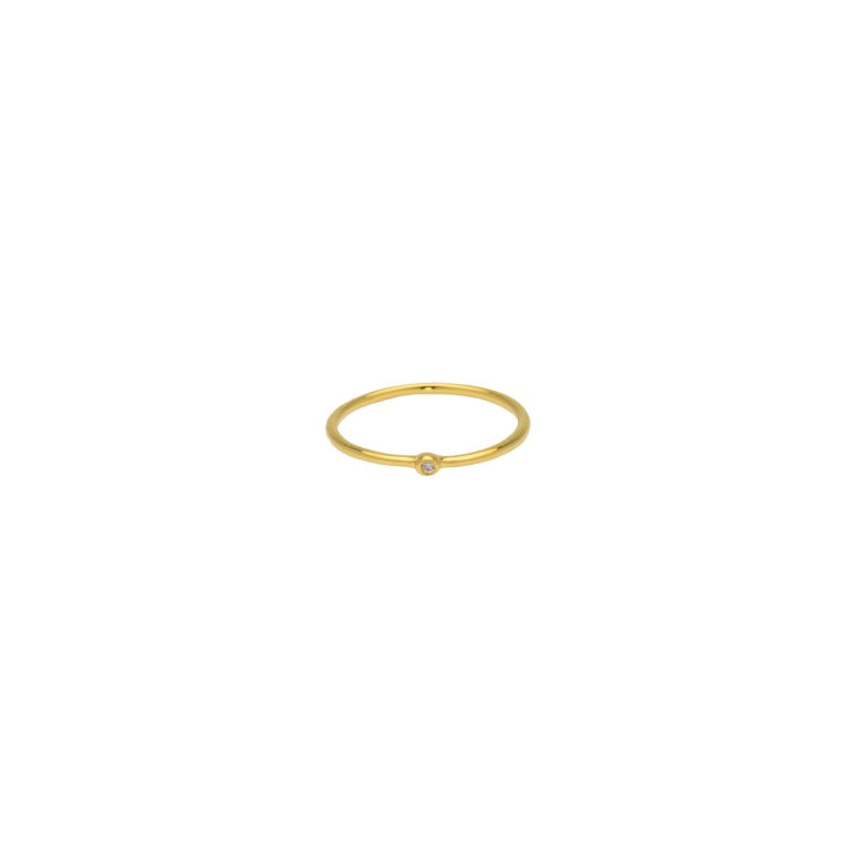 Hultquist Asya Classic Ring Gold S02009-G52