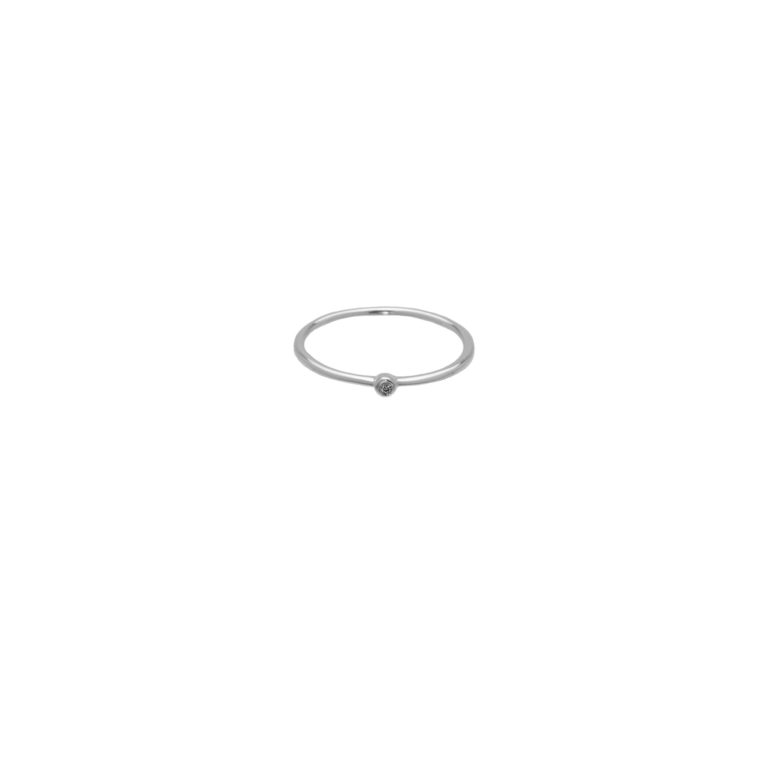 Hultquist Asya Classic Ring Silver S02009-S