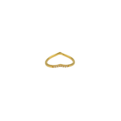 Hultquist Adelina Classic Ring Gold S02010-G