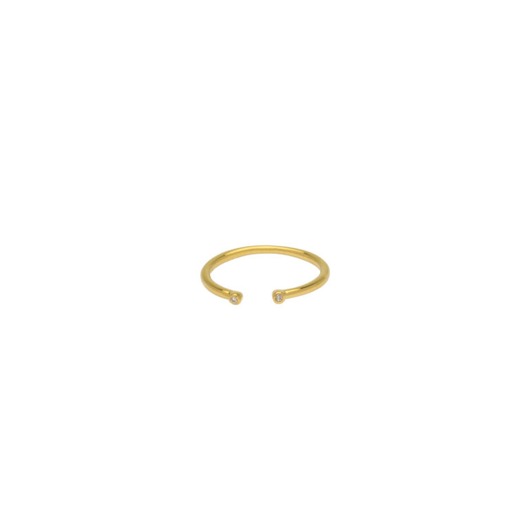 Hultquist Amilia Classic Ring Gold S02011-G