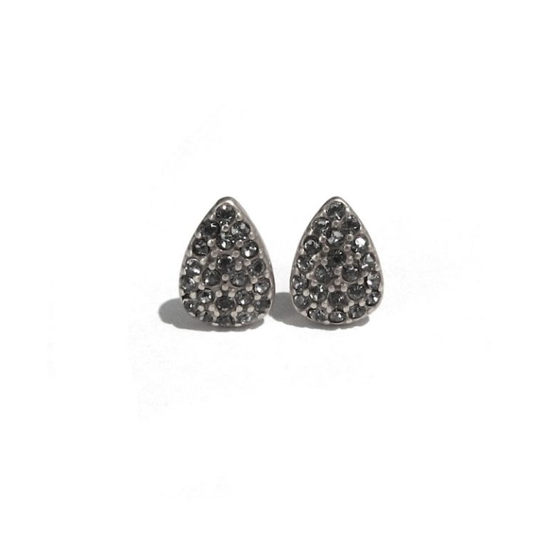 Hultquist Paw Print Stud Earrings Gold 0024S-G