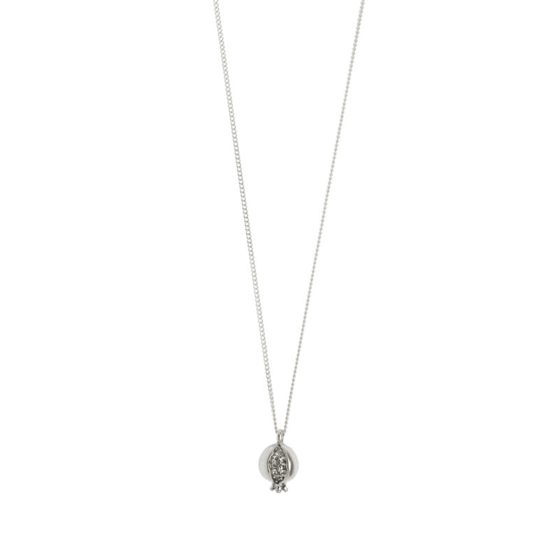 Hultquist Short Pomegranate Necklace Silver 1463S