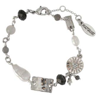 Hultquist Dana Charm Bracelet Silver 1513S