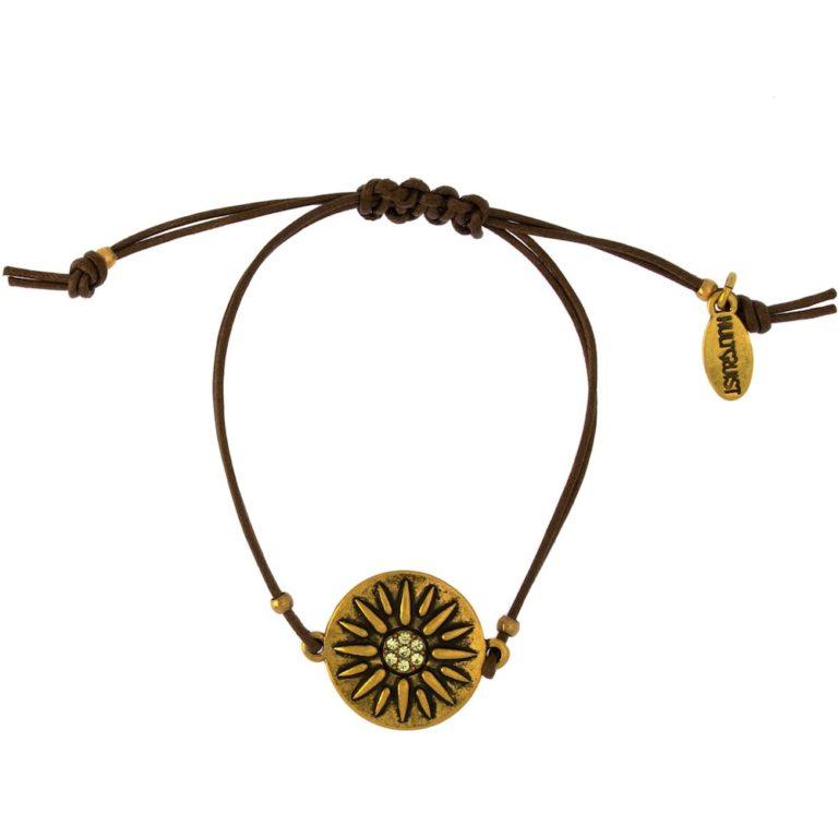 Hultquist Diya Bracelet Gold 1518G-TA