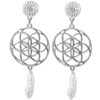 Hultquist Donya Earrings Silver 1523S