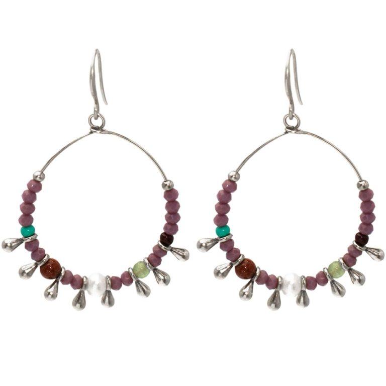 Hultquist Debbie Hook Earrings Silver 1526S